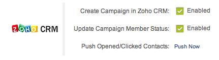 Importa i contatti in ZOHO CRM con un solo click