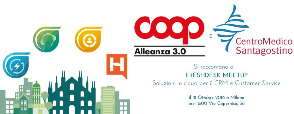 Perchè Coop Alleanza 3.0 e Centro Medico Sant'Agostino hanno scelto le soluzioni Freshdesk