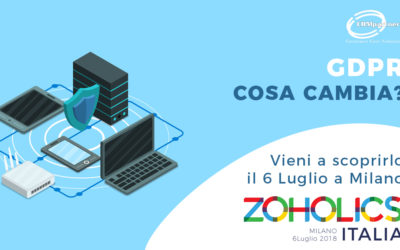 Zoholics: GDPR e data privacy
