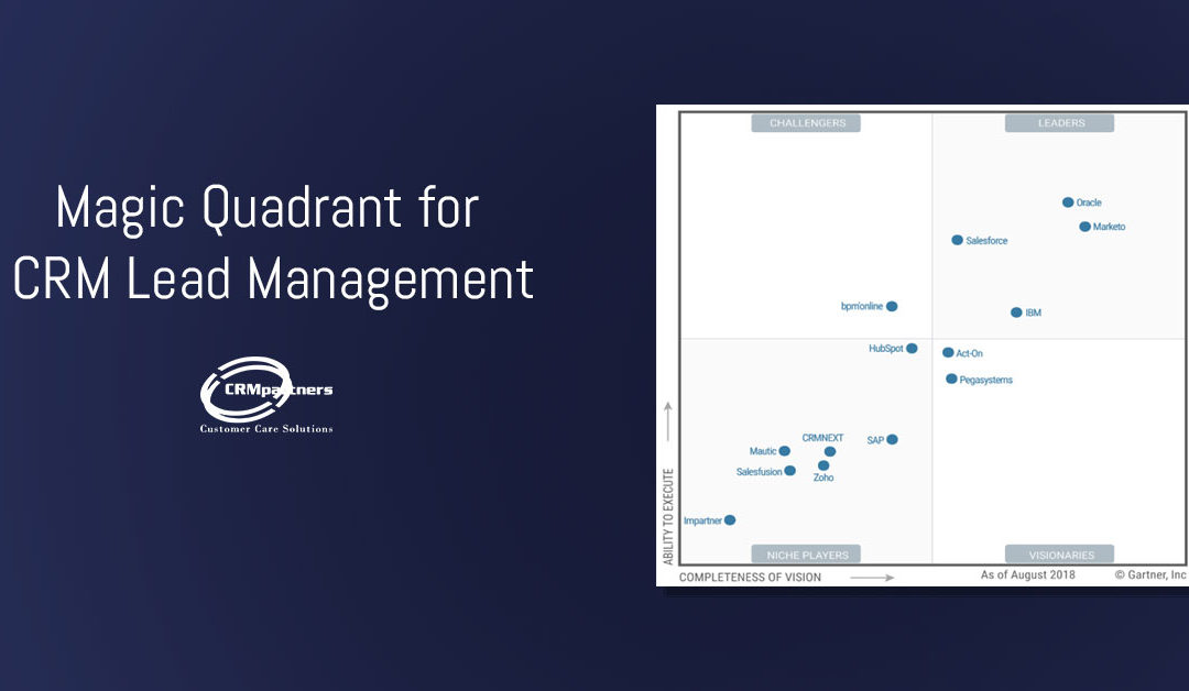 Magic Quadrant for CRM Lead Management