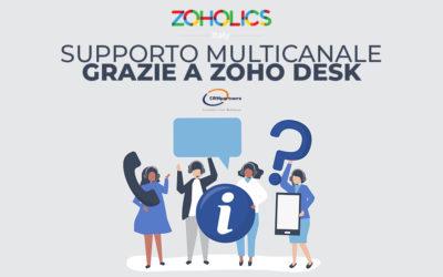 Fornisci un supporto multicanale ai tuoi clienti tramite la nuovissima piattaforma Zoho Desk