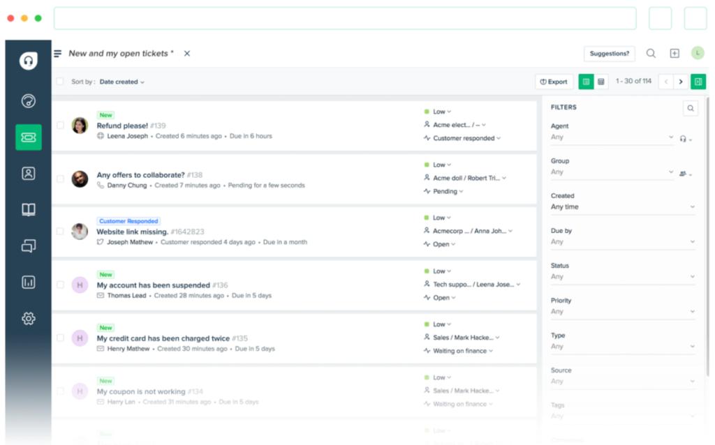 Il supporto omnicanale die FreshDesk ti permette di mettere in pratica un supporto proattivo, raggiungendo l'efficienza nella tua strategia di customer service