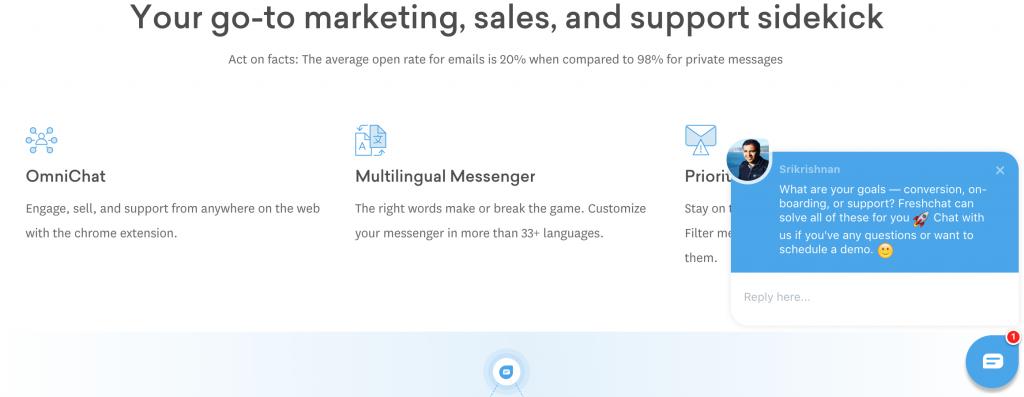 FreshChat ti permette di sfruttare al meglio le tue risorse e convertire i tuoi lead in nuovi clienti