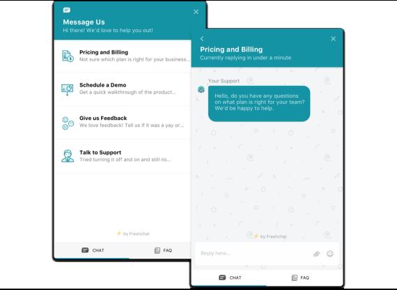 Nella chat, fornire supporto proattivo può essere facile come creare diversi bucket per i thread della chat.