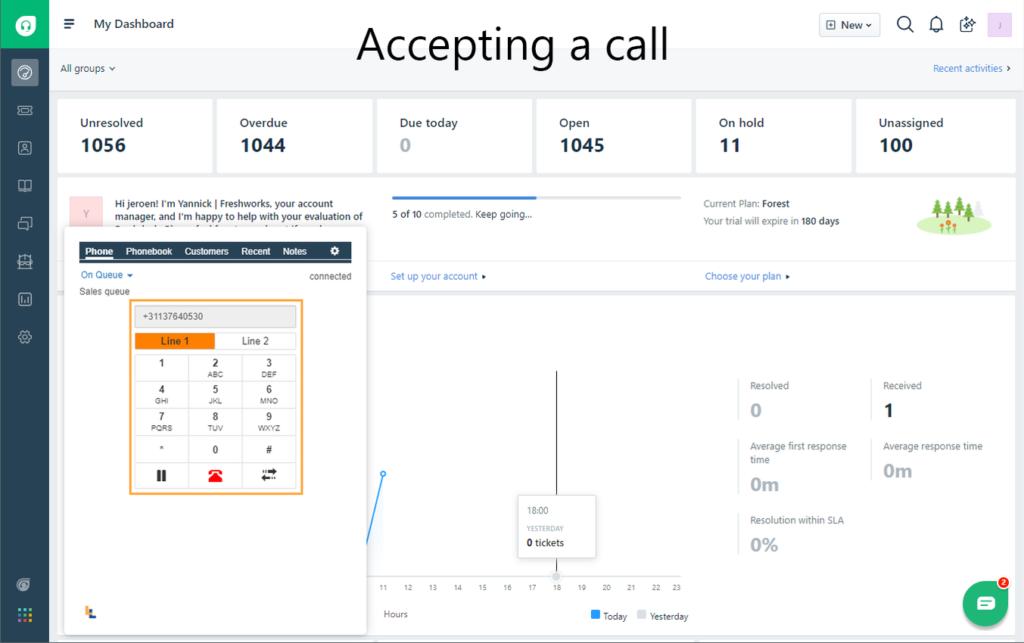 La sincronizzazione bidirezionale tra PureCloud e Freshdesk ti aiuta ad aumentare la tua produttività