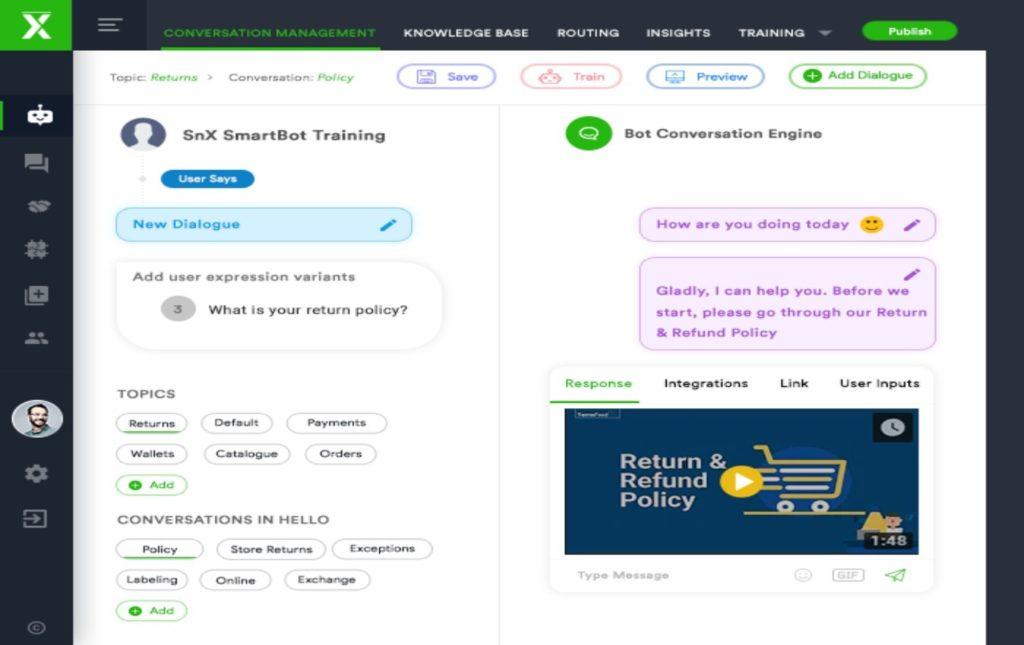 I bot di ServiceNext aiutano ad aumentare i punteggi dell'esperienza del cliente e ad accelerare la trasformazione del business