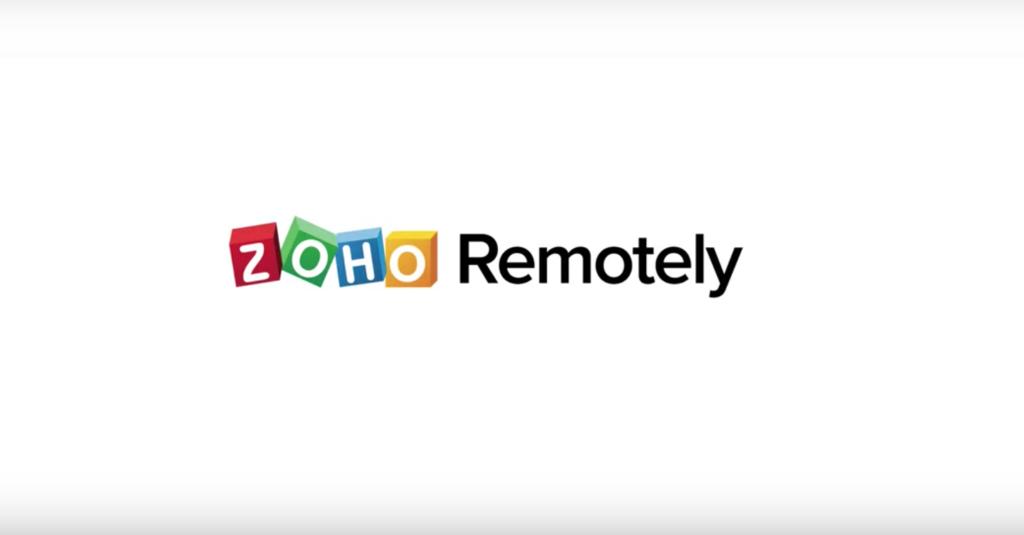 zoho remotely è la soluzione di smart working proposta da zoho