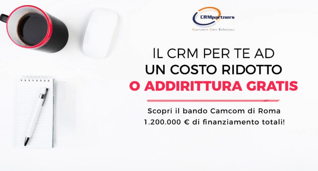 CRM gratis (quasi), scopri quali sono i bandi per ottenere finanziamenti!