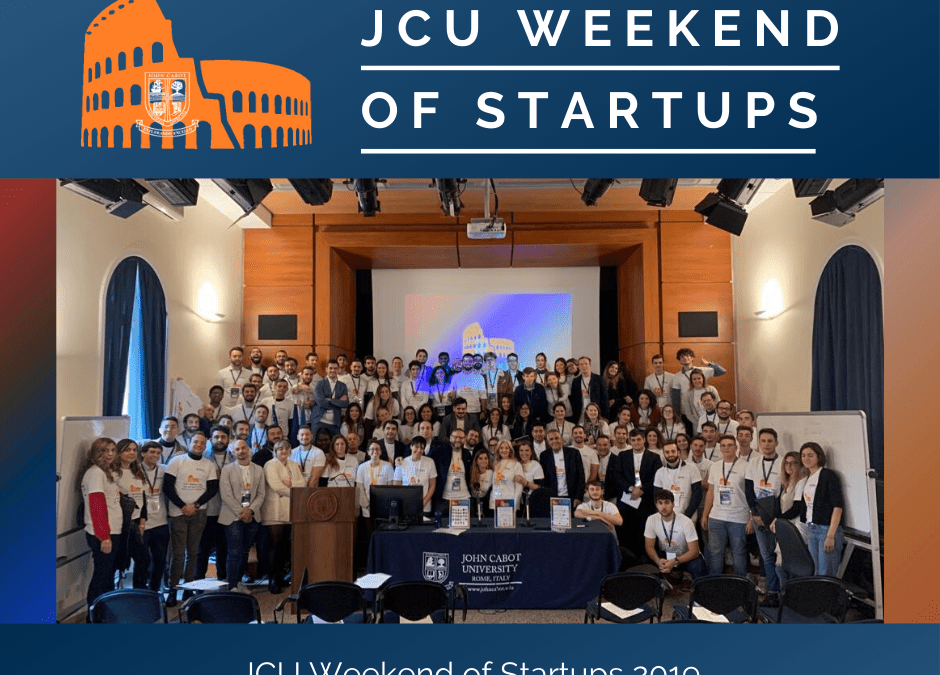 Terzo JCU Weekend of Startups per CRMpartners in veste di sponsor!